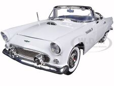 1956 FORD THUNDERBIRD WHITE 1:18 DIECAST MODEL CAR BY MOTORMAX 73173