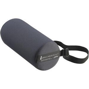 OPTP Original McKenzie Lumbar Roll Standard Lower Back Support Cushion - Black