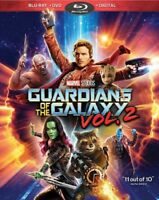 Guardians of the Galaxy Vol. 2 :new (Blu-ray/DVD, 2017, Includes Digital Copy)