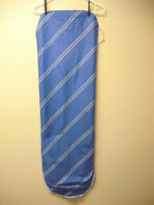 """Ironing Board Cover 48"""" x 15.5"""" Blue Drawstring No Pad Good Used Condition"""