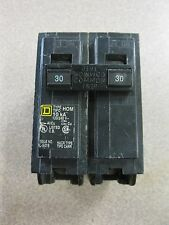 Square D 30 Amp Circuit Breaker Part #HOM230 FREE SHIPPING Box A-35