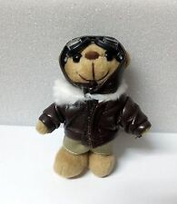 Schlüsselanhänger Teddy Pilot