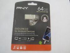 PNY Technologies 64 GB Duo Link OTG USB