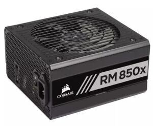 ✅Corsair RM850x 850W 80+ Gold Fully Modular Power Supply 700JW Fast 🚚