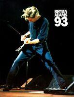 BRYAN ADAMS 1993 WAKING UP THE NEIGHBORS TOUR CONCERT PROGRAM BOOK / NMT 2 MINT