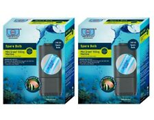 (2 Pack) Aa Aquarium Green Killing Machine 3 Watt Replacement Bulbs