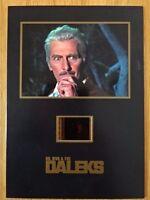 "DR WHO & THE DALEKS 5""x7"" SENITYPE FILM CELL & PHOTO! PETER CUSHING! LTD & NUM"