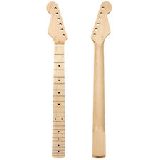 Left Handed Maple Electric Guitar Neck 22 Fret Fretboard ST Replacement Parts