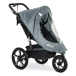 BOB Weather Shield for Single Strollers with Swivel Front Wheels