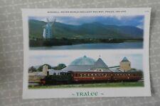 Blennerville Ireland, railway - Tralee & Dingle, 1990s, photo postcard