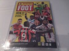 album foot panini sigillato sealed french 2016-2017 + set complet mbappé  rookie