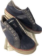 MBT Jambo Blue Canvas Suede Rocker Sneakers Womens Sz 9 9.5 EU 40 400309-12 M050