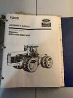 Ford New Holland Assembly Manual Tractors 9280,9480,9680,9880.             *12