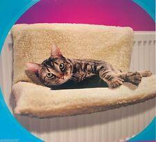 DOG CAT RADIATOR BED PET BED WARM FLEECE PUPPY KITTEN ANIMAL HAMMOCK BED