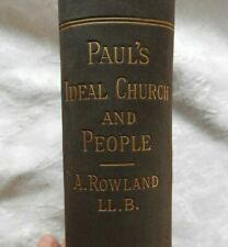 """1888 """"Paul's Ideal Church & People"""" Epistle To Timothy 40 Sermonettes PREACHING"""