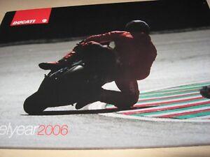 Ducati Range Motorcycle Sales Brochure 2006