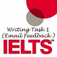 IELTS Writing Task 1 (Email feedback only)