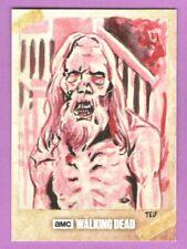 The Walking Dead Season 6 Sketch Card: by Ted Dastick Jr.