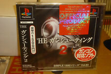 The Gun Shooting 2 (2001) Brand New Factory Sealed Japan Playstation PS1 Import