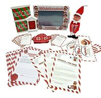 VIP Elf 70 Piece starter Prop Set Door Report Cards Tape for Elves Play Set