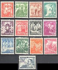 Poland 1938 20th anniv. of Poland's independence - Mi. 331-43  - MNH (**)