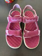 Timberland Pink Girls Summer Sandals Uk Size 3.5
