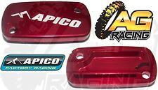 Apico Red Front Brake Master Cylinder Cover For Honda CR 125 125R 1996-2008 New