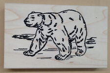 Mounted Rubber Stamps, Wildlife Stamps, Arctic Animals, Bear, Polar Bears Stamp