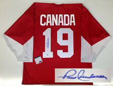 PAUL HENDERSON SIGNED TEAM CANADA 1972 JERSEY PSA/DNA CERTIFIED COA