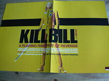 KILL BILL (UMA THURMAN) - MAGAZINE CENTRESPREAD POSTER (REF CC1)