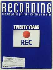 RECORDING MAGAZINE 20TH ANNIVERSARY ISSUE DRUMS GUITAR OCTOBER 2007 VERY RARE!!!