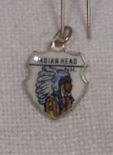 Vintage REU Sterling/Enamel Indian Head, New Hampshire