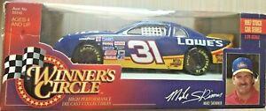1997 Winners Circle Mike Skinner #31 Lowe's Chevrolet NASCAR 1:24 Scale Diecast