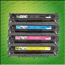 4 COLOR TONER CARTRIDGE FOR CB540A CB541A CB542A CB543A CP1215