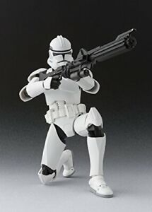 Bandai S.H. Figuarts Star Wars Clone Trooper Phase 2 150mm Figure 77909 JAPAN