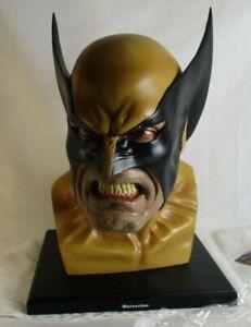 Dynamic Forces Life Size Marvel X-Men Wolverine Bust Alex Ross 170/700 1:1
