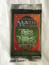 Magic The gathering MTG Booster TERRES NATALES X1 Vf Neuf Scellé