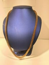24' Stainless Steel Rose Gold Plated Franco Chain (6mm)