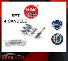 4 Candela di accensione NGK ZKR7A-10 55190788 per AUTO FIAT LANCIA ALFA ROMEO