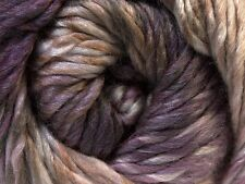 100 Gram Bozcaada Island Donna #27192 Ice Wool Yarn Grape Mauve Taupe Cream