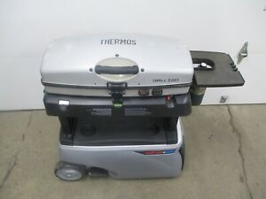 Grill 2 Go  Fire & Ice Thermos Cooler Portable Grill Griddle Propane