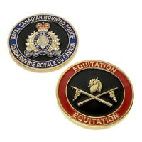 RCMP  Royal Canadian Mounted Police Challenge Coin Equitation Horse Division