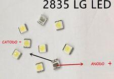 5 pezzi LG LED BACKLIGHT 1W 100 LM 3528 1W 3V