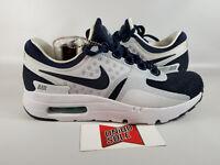 Nike Air Max Zero TINKER HATFIELD MIDNIGHT NAVY BLUE WHITE DAY 789695-104 4.5 6w
