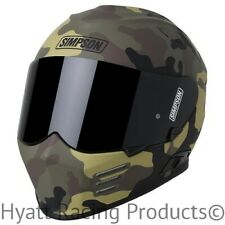 "Simpson Ghost Bandit ""Crypsis Camo"" Motorcycle Helmet DOT - All Sizes"