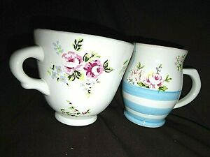 Robert Gordon Pottery Super Size Mug & Coffee Cup LIBERTY STYLE Country Floral