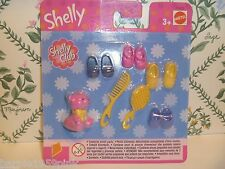 Shelly Club Set For Kelly or Ssf by Mattel New & Mip Shoes & More