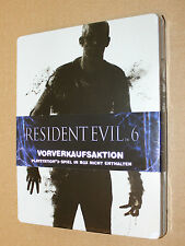 Resident evil 6 new & sealed Pre-order Box / Steelbook ( G2  PS3 )