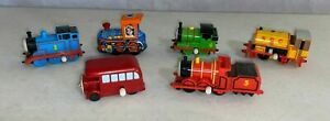 Thomas the Tank Engine Wind up Trains Lot 1993 and Retro Steam Train