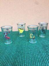 4 Bicchieri Vetro Bacardi 150 Anni 1862/2012 Edizione Limitata (serie Completa)